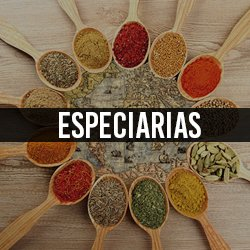 Especiarias p/ Cozinha